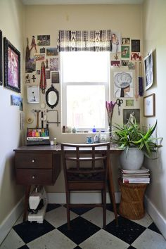 Good little crafty nook. Jamie's Eclectic Sensibility in Los Angeles