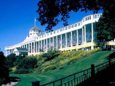 """The Grand Hotel, Mackinac Island from """"Somewhere in Time"""""""