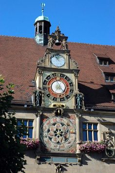 Heilbronn, Germany [shown: astronomical clock at the town hall]- such a vivid memory in the town i lived for 3 years.