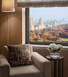 JW Marriott Essex House New York - With one of the most prestigious addresses in the world, it offers panoramic views of the park and the city.