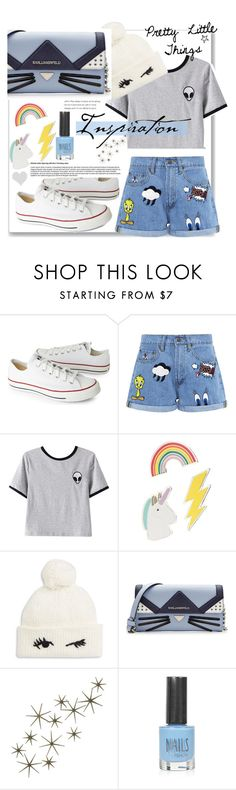 """Pretty things!! 💖"" by bgirl20 ❤ liked on Polyvore featuring Converse, Paul & Joe Sister, Chicnova Fashion, Red Camel, Kate Spade, Karl Lagerfeld and Topshop"
