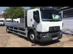 18 ton GVW - RENAULT / D 2014 Dropside body Front ¼ and rear drop, 4 sockets each side, Sleeper cab, Air suspension, Date Registered: Used Trucks For Sale, Sale Promotion, Commercial Vehicle, Tractors, Online Business