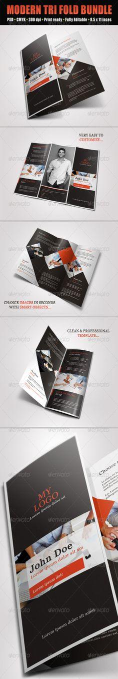 GraphicRiver - Trifold Brochures Bundle