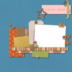 Scrapbooking TammyTags -- TT - Designer - Dreamn4Ever Designs, TT - Item - Quick Page
