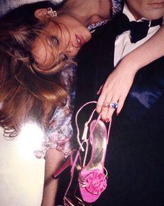 """""""Hello Sandals"""" by Chris Von Wangenheim for Vogue Magazine March 1977"""