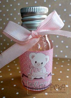 Álcool Gel baby girl Petit POA - Eventos & Lembrancinhas Personalizadas
