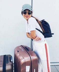 6 Fashion Tips to Make Your Next Flight Way More Comfortable | WhoWhatWear