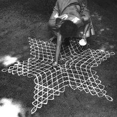 the divine art of kolam making