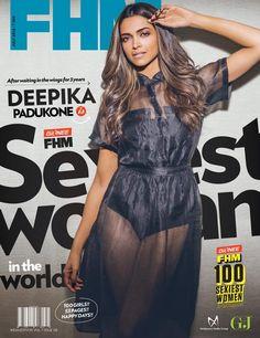 Deepika Padukone FHM India July 2014  love the make up