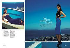 Katryn Kruger by James Meakin for Stella Magazine April 2012