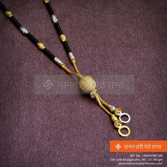 Gold Mangalsutra Designs, Gold Jewellery Design, Gold Pendent, Indian Jewelry, Chains, Wedding Jewelry, Jewelry Collection, Beaded Jewelry, Women Jewelry