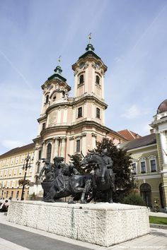 Cathedral in Eger, Hungary Budapest, Hungary Travel, Medieval Castle, Central Europe, Culture Travel, Cool Places To Visit, Croatia, Castles, Countryside