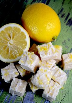 Lemon Citrus Shortbread Bites