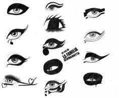 gaga makeup :)