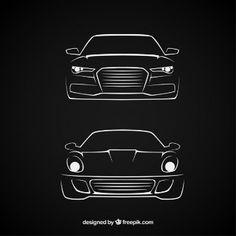 Carros esboçado