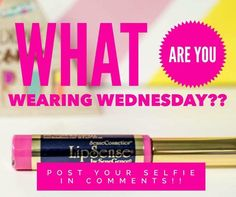 What are you wearing Wednesday? LipSense Distributor # 351172. Email: prettypoutyperfection@gmail.com. FB Group: Pretty Pouty Perfection.