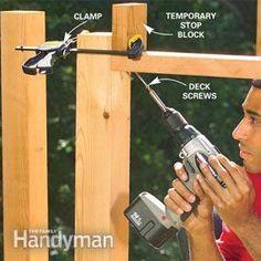 DIY: cedar deck with glass panels