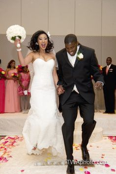 We love capturing the pure joy of a couple at their ceremony! #chicagowedding   #twawedding