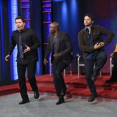 Misha Collins on Whose Line is it Anyway via Twitter