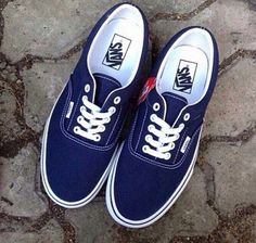 16a4d69659 Vans Era Dark Blue Ori!!! 100% good quality. REAL PICT only 245k. GRANB IT  FAST!!!!  vans  vansindo