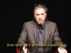 nice Tp Lee Strasberg - Al Pacino Actor's Studio - Puesta en Escena