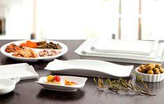 La creatividad en la cocina junto con estas originales y elegantes vajillas, te permitirán hacer tapas como las de los grandes chefs.