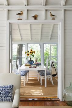 Whitewashed Cottage Dining Room | Photo Gallery: Beautiful Sunrooms | House & Home