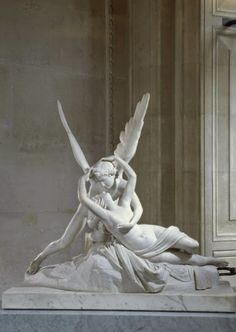 Antonio Canova, Amor i Psyche, Luwr Cupid and psyche Statue Art, Eros And Psyche, Renaissance Kunst, Creation Art, Classical Art, Oeuvre D'art, Art And Architecture, Art Inspo, Art History
