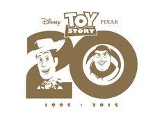 Disney Pixar Toy Story 20th Anniversary logo
