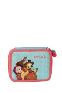 Pencil case with refill Masha and the Bear #Kstationery #Mashaandthebear #Mashaeourso
