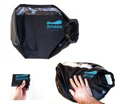 The Scrubba™ wash bag is:  -How to wash clothes when traveling  -Ultralightweight(~150g)  -Ultra compact (folds to almost pocket-size)  -Efficient (wash clothing in minutes)  -Effective (wash several items of clothing at once)