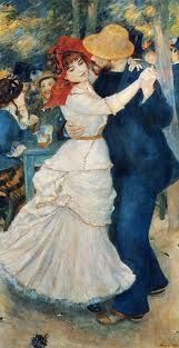Dance at Bouvigal, 1882, Pierre-Auguste Renoir