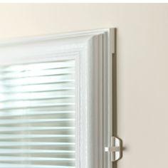Features & benefits of ODL add-on cordless blinds: door window treatments for patio doors, entry doors, French doors. Blinds For French Doors, Glass French Doors, Blinds For Windows, Windows And Doors, Glass Door, Patio Door Blinds, House Blinds, Patio Doors, Entry Doors