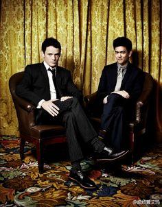 Anton Yelchin & John Cho