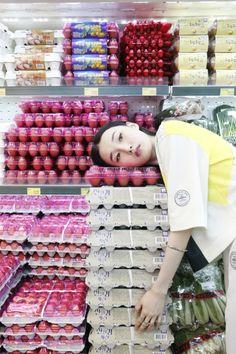 Park Su Jin, Jo Yeon Soo shot by Chloe Gassian and styled by Kim Min Ji for i-Heart Magazine France
