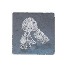 ZazzleWedding Stone Magnet - marble gifts style stylish nature unique personalize