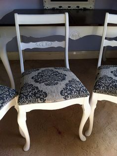 French table and chairs