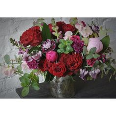 Romantic red delivery design from Sullivan Owen. Call 215-964-9790 to order for yourself or for a friend!