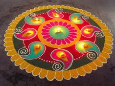 India Tv - Rangoli ideas for Diwali Make these easy, unique yet simple rangoli designs at home Source by Best Rangoli Design, Easy Rangoli Designs Diwali, Rangoli Simple, Rangoli Designs Latest, Simple Rangoli Designs Images, Rangoli Designs Flower, Free Hand Rangoli Design, Small Rangoli Design, Rangoli Patterns