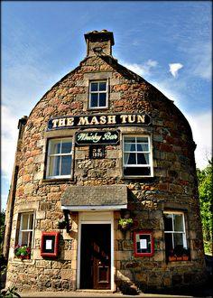 The Mash Tun Whiskey Bar  Aberlour, Scotland
