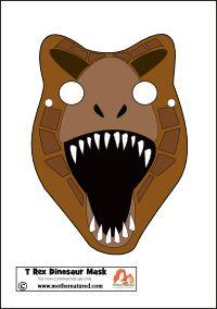 Dinosaur Tyrannosaurus Mask