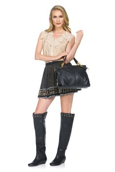 Celebrity Stylist Jessica Paster loves bold items, such as over the knee boots, for November. #JustFab