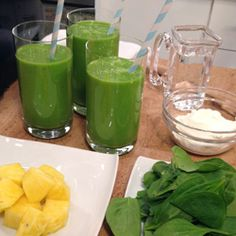 Healthy Recipe From Joy Bauer's Food Cures Greens In-A-Glass