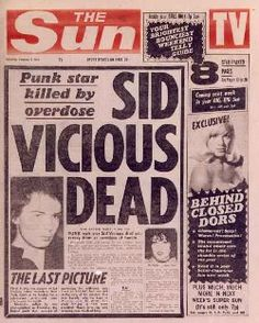 Sid Vicious Of The Sex Pistols Died Here In New York   FeelNumb.