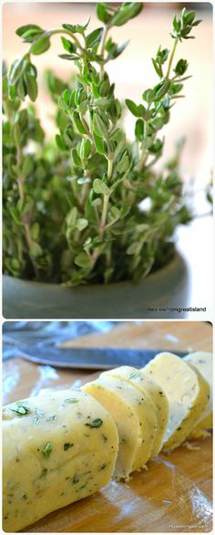Savory Asiago Lemon Thyme Shortbreads --- this super easy slice & bake appetizer is HEAVEN with a glass (or two) of chilled wine!