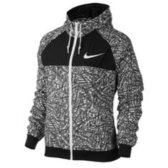 e675f24f6ea Womens Jackets - Sportswear - Rebel Sport - Nike Womens City All Over Print  Jacket
