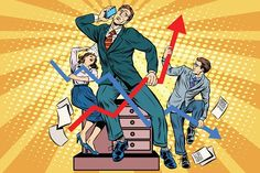 Buy Businessmen And Sales Schedules by studiostoks on GraphicRiver. Businessmen and sales schedules pop art retro style. The businessman in the image of Laocoon and his sons. Ancient Myths, Welcome To The Family, Branding, Business Women, Retro Fashion, Pop Art, Hero, Concept, Cartoon
