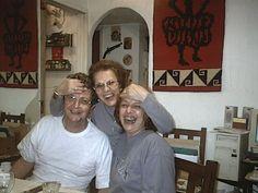 Ricardo, Mama y Susy en Belgrano
