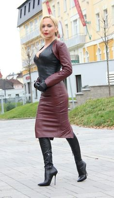 Thigh high boots #highheelbootsskirt