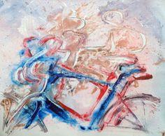 … In griglia - acrilico su tela -cm. 100 x 70